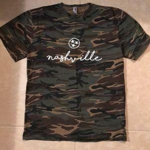 Camo Nashville T- Shirt